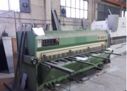 Cisaille guillotine Haco 3000 x 6mm
